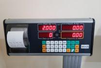 Bilancia elettronica Waage mod. EB2/A