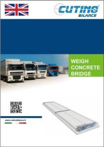 Copertina catalogo pesa a ponte cemento precompresso eng